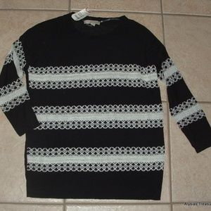 One A Sweaters - Black Medium 8 / 10 Lightweight Pullover Sweater